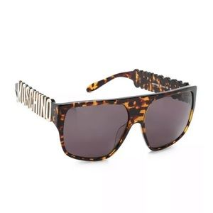 Moschino flat top sunglasses new $420